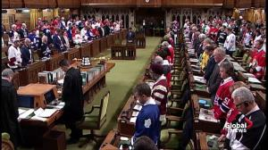 Jersey day at House of Commons as MP's pay tribute to Humboldt Broncos