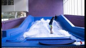 Seton YMCA pool includes FlowRider surf machine