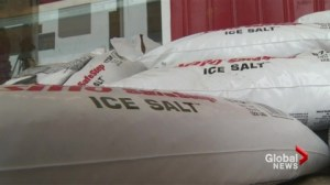 City facing a salt shortage