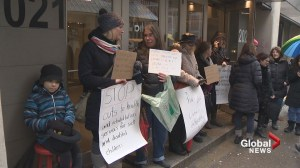 Montreal-area parents protest lack of services for children with autism