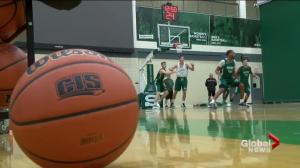Saskatchewan Huskies basketball team testing new style at Graham Shootout