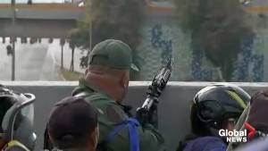 Venezuela: Gunshots heard at Guaido rally in Caracas