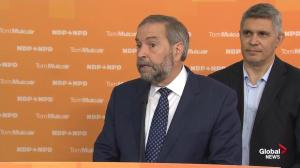 Mulcair says NDP's first budget will be balanced
