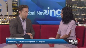 Human rights activist Craig Kielburger talks to Vancouver audience