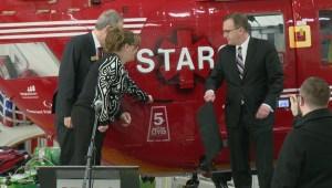 STARS celebrates 5 years in Sask. with renewed funding