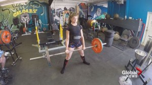 Calgary powerlifter using her sport to create opportunities for athletes in Zimbabwe