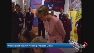 Ontario woman recalls meeting Princess Diana as a little girl during '91 Royal Tour