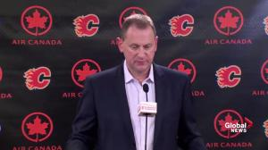 Calgary Flames 'under performed': Treliving on coaching dismissals
