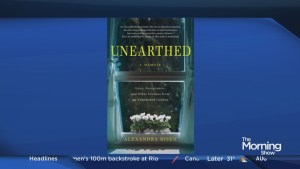 "Novel ""Unearthed"" repairs the past"