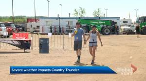 Country Thunder rocks on after severe Saturday storms