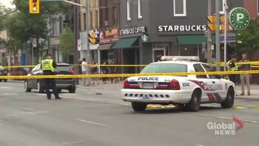 Watch A Man Who Had Been Struck By A Car In The Citys North End Was Rushed To Hospital On Saturday After Toronto Police Arrived To Find Him Trapped