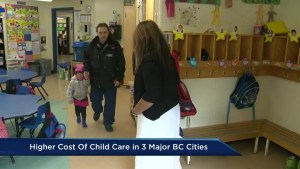 Child care costs are costly in Metro Vancouver: study