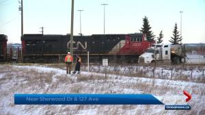 Man dies in Strathcona County collision (00:40)
