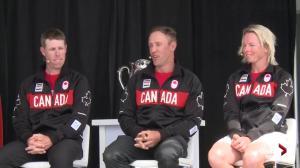 Graham DeLaet talks having former NHLer Ray Whitney caddie in Rio