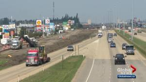 Gasoline Alley entrance in Red Deer shuts down