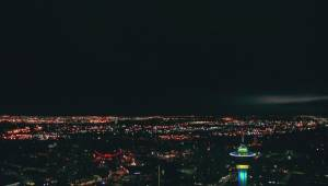 Timelapse shows stormy skies over Calgary