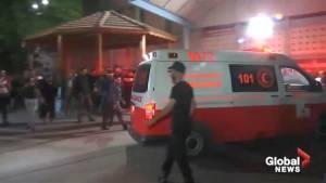 Hamas leader among 7 dead after violence erupts in Gaza strip