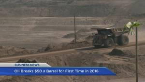 BIV: Oil prices rise above $50 per barrel