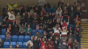 West Kelowna Warriors fans elated