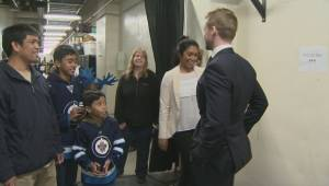 Manitoba Moose Josh Morrissey gives back
