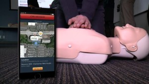 Heart attack app can save lives
