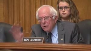 Bernie Sanders tells Trump's Environmental Protection Agency pick he's not getting his vote