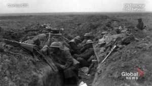 Armistice anniversary:  Life in the trenches