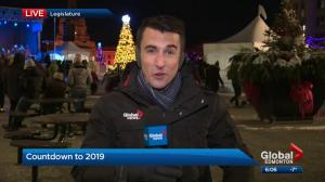 Excitement building for New Year's Eve celebrations at Alberta legislature grounds