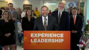 Mulcair announces plans for national pharmacare program