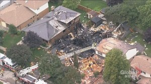 1 dead, 1 critically injured after house explosion in Kitchener