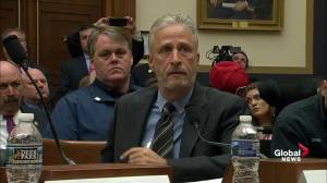 Emotional Jon Stewart outlines timeline of 9/11 first responders