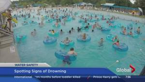 Spotting signs of drowning not easy