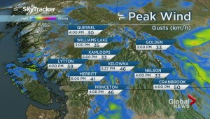 BC Evening Weather Forecast: Jul 13