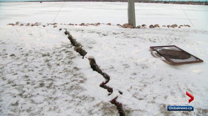 Image result for EARTHQUAKE ALBERTA BEACH