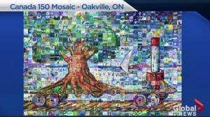 Creating murals for Canada 150 Mosaic