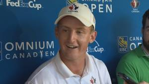 Canadian Jared du Toit into Sunday's final pairing at RBC Canadian Open after eagle on 18th hole