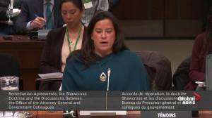 Wilson-Raybould describes moment she learned she was losing AG job