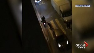 Video emerges of Paris Ritz Hotel robbery suspects getaway