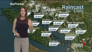 B.C. evening weather forecast: Apr 4