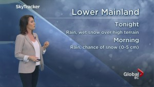 BC Evening Weather Forecast: Feb 16