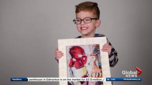 Stollery kid: Lauchlin, 6, born at 25 weeks with many complications