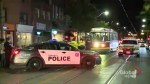 Woman in life-threatening condition after being hit by streetcar in Toronto