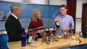 Josh Lindley makes some festive holiday cocktails