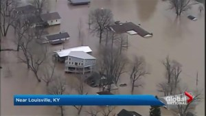 States of emergency in flood-hit U.S. communities