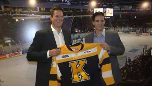 Meet Kurtis Foster, the new Head coach for the Kingston Frontenacs