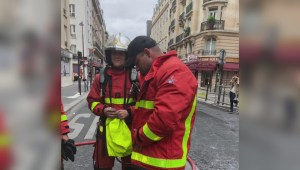 Vancouver firefighter goes beyond the call of duty while on vacation in France