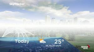 Edmonton early morning weather forecast: Thursday, August 16, 2018
