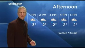CHEX weather update for March 27