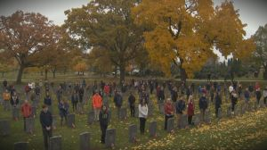 Hamilton pays tribute to Canada's fallen soldiers