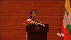 Aung San Suu Kyi deliver strongest statement yet on Rohingya genocide